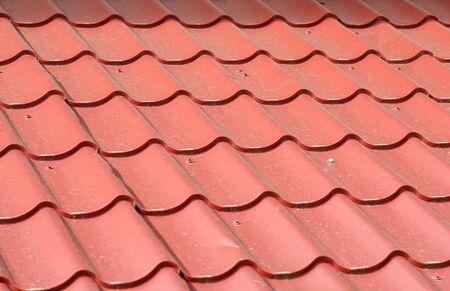 roof texture: metal roof texture Red dirty studio
