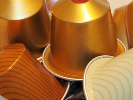 Kaffeekapseln Standard-Bild - 56761781