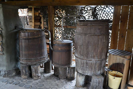 jugs: The ancient moonshine still in the village. Serves for production of house alcohol.