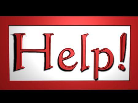 Help Stock Photo - 4062079