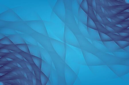 Modern blue abstract Underwater Pattern background