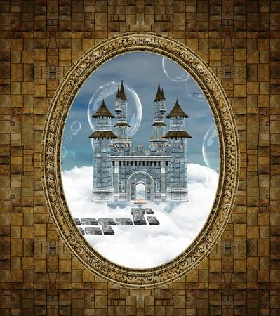 Fantasy frame photo