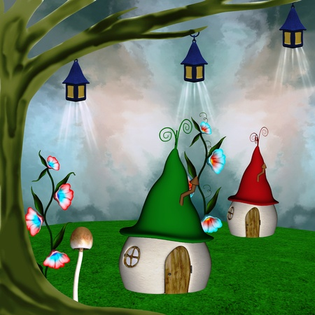 enchanted: Elves village