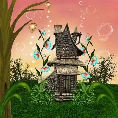Fairy tale house photo