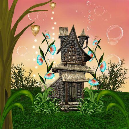 Fairy tale house Reklamní fotografie