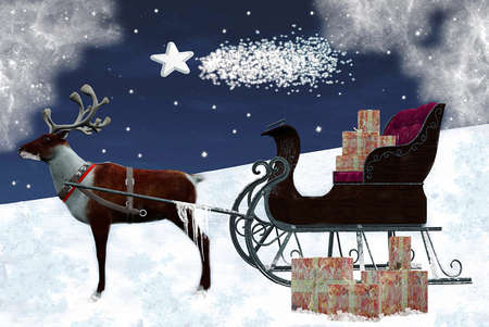 Beautiful christmas illustration Stock Illustration - 10866987
