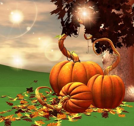 dode bladeren: Herfst stilleven Stockfoto