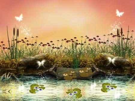 Enchanted nature series - Enchanted river