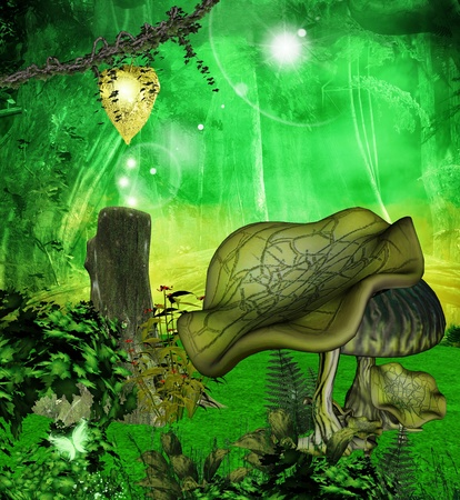 Enchanted nature series - through the enchanted forest  photo
