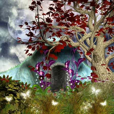 lawn gnome: Fairysecret house