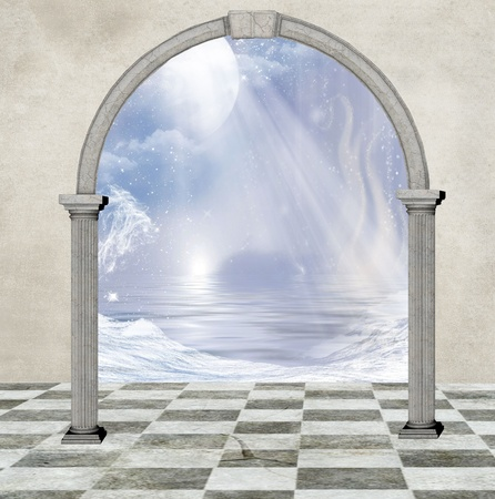 moon gate: The world through the door