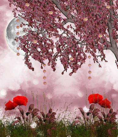 wildblumen: Garten der Tr�ume Lizenzfreie Bilder