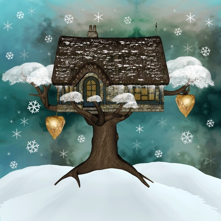 refuge: Fairy tale series - winter refuge