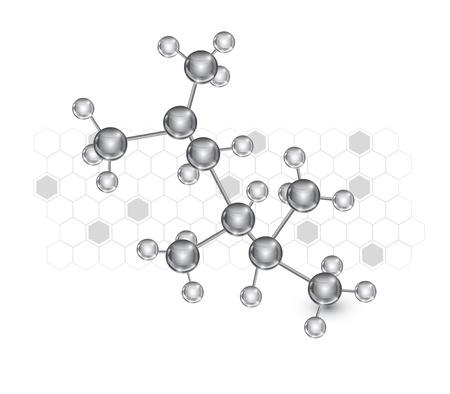 Molécula Ilustración de vector