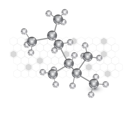Molecule Stock Vector - 11812995