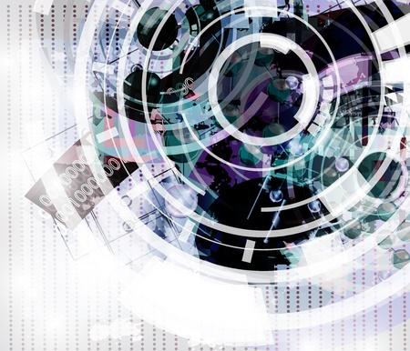 sucher: High-Tech abstrakten Hintergrund