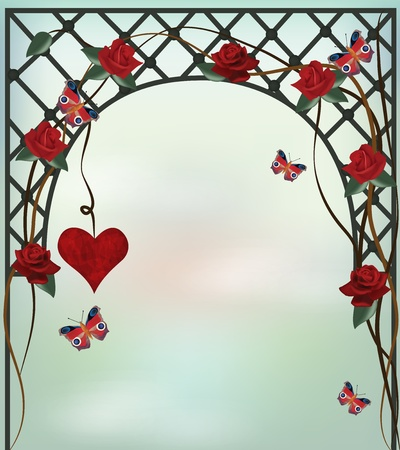 arbor: romantic background