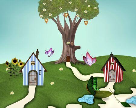 Little summer village photo