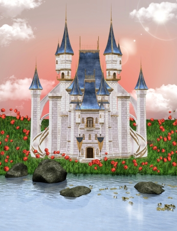 Dream castle Stock Photo - 14557618