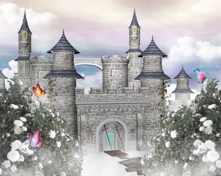 castillos de princesas: Romántico castillo