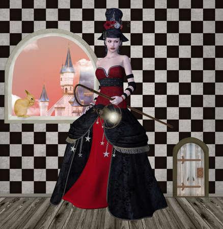 Wonderland series - looking for Alice