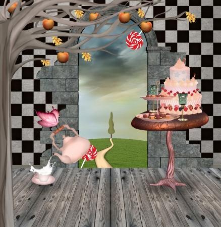the temptations room - background 版權商用圖片