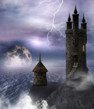 Dark tower photo