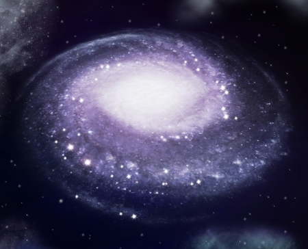 渦巻銀河 ロイヤリティーフリー...