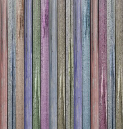 Colored wooden texture photo