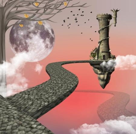 castillos de princesas: El largo camino a la fantas�a