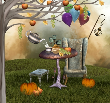 whimsical: Autumnal banquet