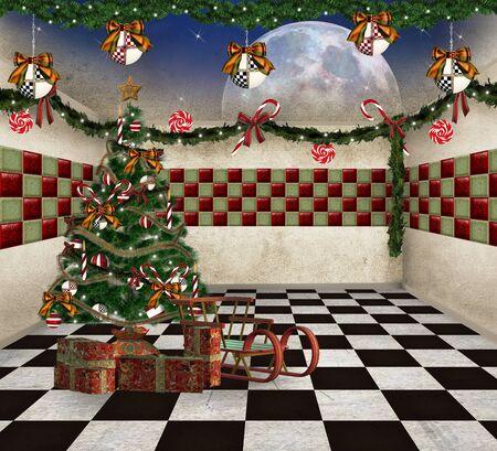 Christmas room Stock Photo - 15503464