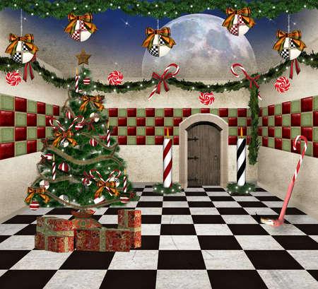 Wonderland series - christmas in wonderland Stock Photo - 15503463
