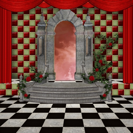 fairytale castle: Wonderland series - Wonderland romantic hall