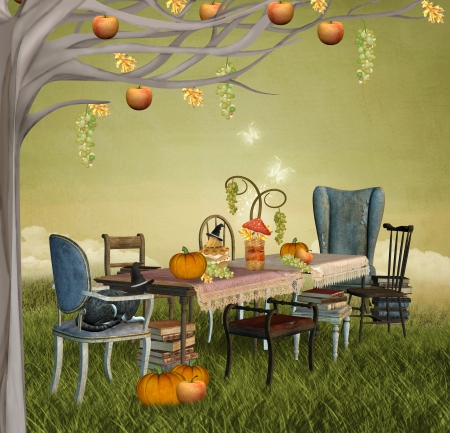 Autumnal party Stock Photo - 15688732