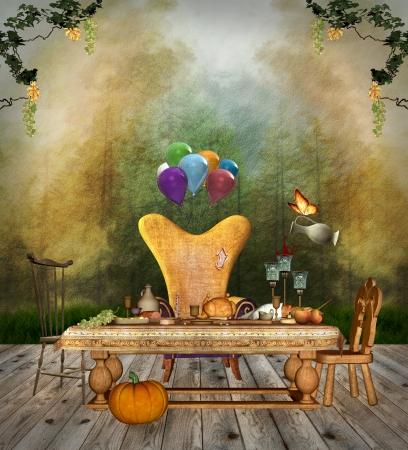 Thanksgiving celebration Stock Photo - 15761426