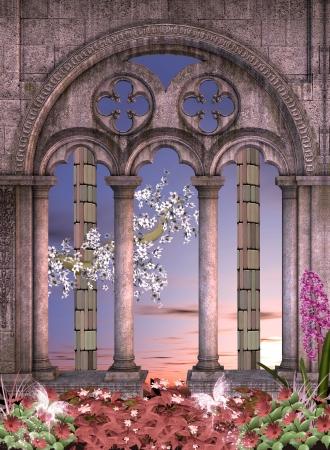 Enchanted background