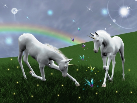 Unicorns  版權商用圖片