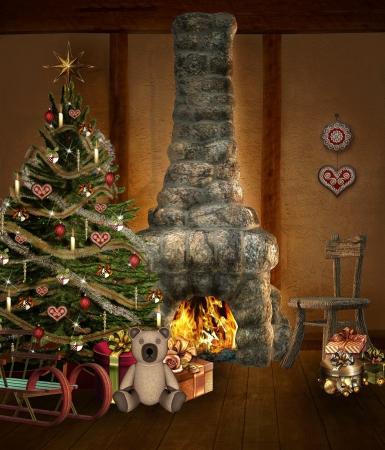 Lovely Christmas Stock Photo - 16294926