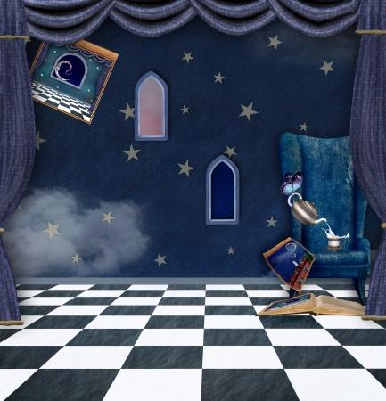 a nocturne: Storyteller background