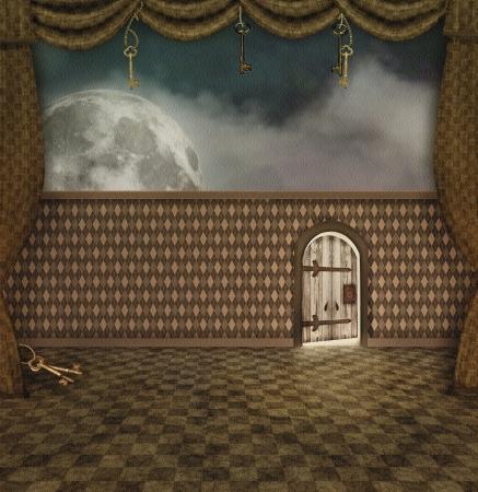 Wonderland series - A little door
