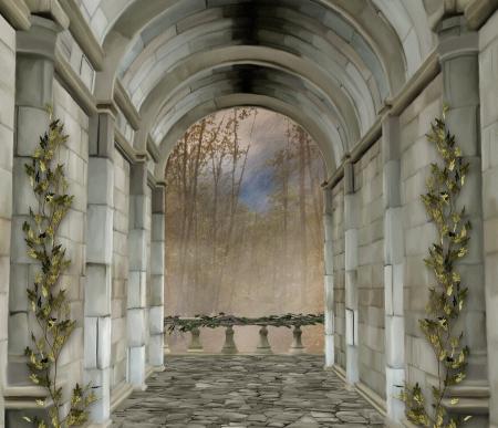 castle rock: Castillo de entrada