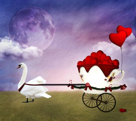 Valentine carriage photo