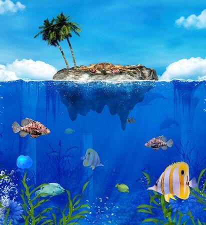 lionfish: Crab island
