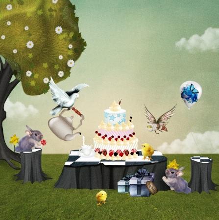 Wonderland series - Birthday picnic