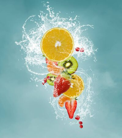 fruit drop: Fresh Fruits