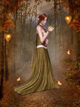 fairy princess: Lady