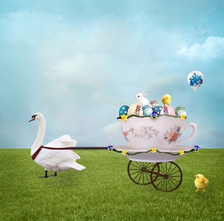 Easter carriage photo
