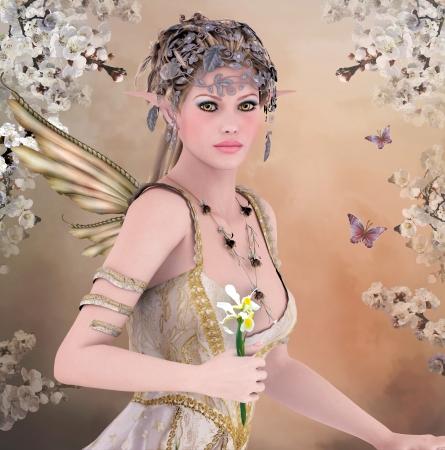 Spring queen photo