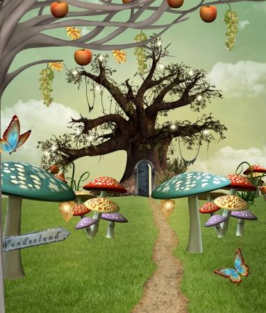 alice au pays des merveilles: Wonderland s�rie - sentier des merveilles Editeur